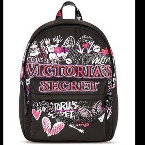 Victoria's Secret Graffiti Backpack